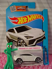 Case J/K 2015 i Hot Wheels LAMBORGHINI URUS #23 ∞White; pr5∞HW City∞Street Power