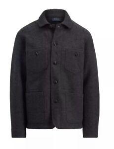 Brand New Men's Ralph Lauren wool Grey jacket Size L