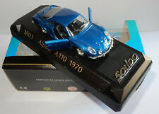 MADE IN FRANCE SOLIDO ALPINE RENAULT A110 BLEU FONCE 1970 REF 1803 IN BOX BIS