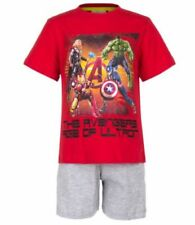 Pijamas y batas de color principal rojo de poliéster para niño de 2 a 16 años