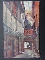 Shropshire SHREWSBURY Golden Cross Passage - Old Postcard