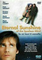 ETERNAL SUNSHINE - SE MI LASCI TI CANCELLO (2004) DVD EX NOLEGGIO - EAGLE