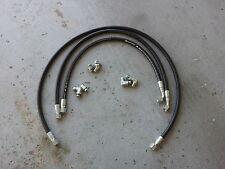 "04-05 Chevy Silverado Duramax & 8.1 liter Allison transmission cooler hoses 1/2"""
