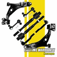 2x Front Lower Control Arm Sway Bar Tie Rod for 2007-2013 2014 Edge Lincoln MKX