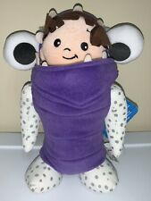"""DISNEY STORE Monsters, Inc. BOO 12"""" Plush Figure ~ GUC with Tags Attached!"""