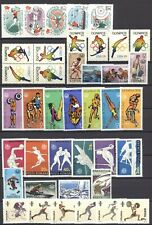 Olympiade 1976, Olympic Games - LOT ** MNH auf 9 Seiten + Belege