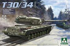 Takom Models 1/35 US Heavy Tank T30/34 (2 in 1)
