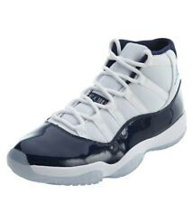Nike Air Jordan 11 XI Basketball Shoes Retro Win Like '82 Midnight Blue UK 7.5