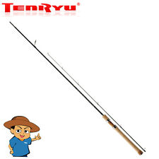 "Tenryu RAYZ RZ87H Heavy 8'7"" trout fishing spinning rod pole made in Japan"