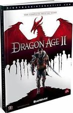 Dragon Age II : The Complete Official Guide by Piggyback (2011, Paperback, New E
