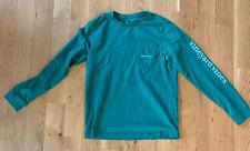 Vineyard Vines Boys' Long Sleeve Whale Shirt, size L (16)