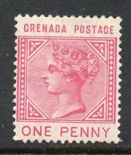 Grenada 1883 QV 1d carmine (Postage) SG 31 mint CV £90
