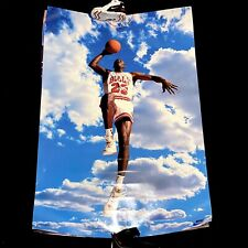 Nike Air Jordan Dunk Poster Original PE Vintage NBA Trikot Jersey 1985 Skyline