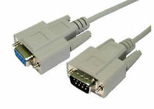 Serial (RS-232) Male to Female Connectors