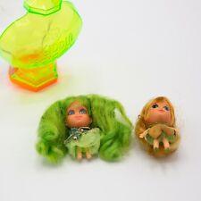 Vintage Liddle Kiddle Kologne Two Dolls Perfume Bottle Mattel 1967 Collectible