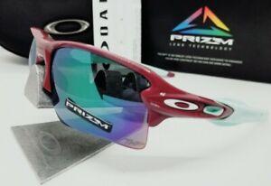 "OAKLEY vampirella/jade iridium PRIZM ""FLAK 2.0 XL"" OO9188-A9 sunglasses! NEW!"