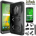 For Motorola Moto G6 Play/Forge/G6 XT1925 Shockproof Case Cover+Screen Protector