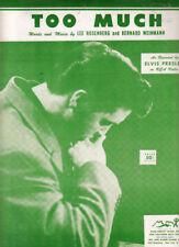 Partituras y libretos de música del año 1956