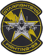 Fighter Squadron 33 VF-33 United States Navy USN Embroidered Patch