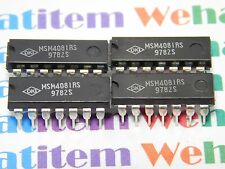 MSM4081RS / IC / DIP / 4 PIECES  (qzty)