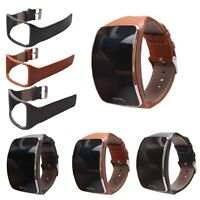 Genuine Leather Watch Band Strap Wristband Bracelet For Samsung Gear S SM-R750