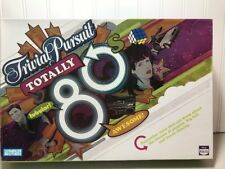 Trivial Pursuit Totally 80's Board Game Parker Bros Hasbro 2006.