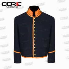 Us Civil War Dragoon Union Wool Shell Jacket with Orange Trim All Sizes