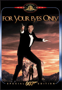 103🆕SEALED 007 James Bond - For Your Eyes Only (DVD, Over 2 Hours) R1