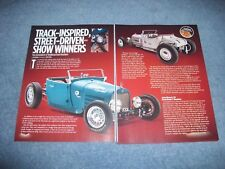 "1923 Ford Model T Roadster 1929 Model A Roadster Article ""Track-Inspired..."""