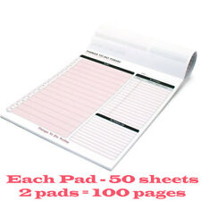 Pukka Pad Things To Do Today Book Memo Pad To Do List Pack of 2 Pads