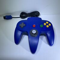 Nintendo 64 Controller Blue Authentic Official Tested & Working - OEM -Fast Ship