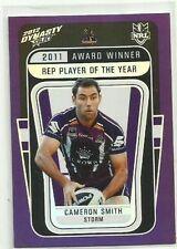 Cameron Smith 2012 Season NRL & Rugby League Trading Cards