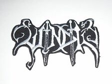 WINDIR BLACK METAL IRON ON EMBROIDERED PATCH