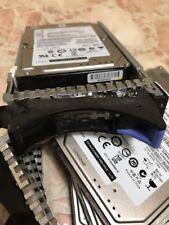 """IBM 300GB 74Y6496 74Y6486 44V8185 2.5"""" 15K RPM SAS HDD AIX/LINUX 512 Sec"""