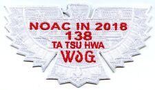 OA Ta Tsu Hwa Lodge 138 2018 NOAC Fundraiser (Ghost White)
