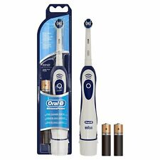 ORAL B ADVANCE POWER ELECTRIC TOOTHBRUSH TOOTH BRUSH BATTERIES INCLUDED BRAUN