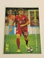 2020 Topps Champions League By Messi - Joshua Kimmich - FC Bayern Munchen