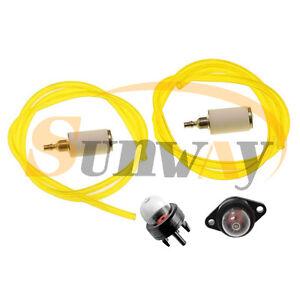 Fuel Line Pipe Fuel Filter Kit Primer for Partner Colibri II, Duo, Plus, 25, SST