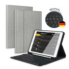 """QWERTZ für iPad 2018 6th Gen 9.7"""" Tastatur Bluetooth Keyboard Case Schutz Hülle"""