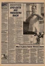 Syd Barrett Pink Floyd Interview NME Cutting 1982