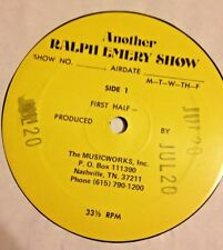 RADIO SHOW: RALPH EMERY SHOW 7/20/84 SHELLY WEST  LIVE IN STUDIO ONE HOUR