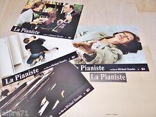LA PIANISTE ! Isabelle Huppert  jeu photos cinema lobby cards