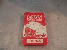 Vintage Caravan Bridge Sized Playing Cards