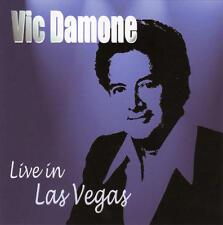 Vic Damone - Live In Las Vegas CD SEALED NEW UK IMPORT recorded 1969
