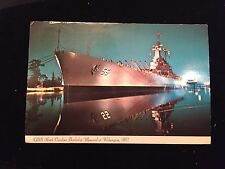 USS North Carolina, Battleship, Memorial at Wilmington, N.C.., Postcard