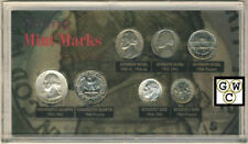 USA Mint Marks Shifting 7 Coin Set (OOAK)