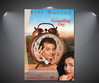 Groundhog Day Bill Murray Vintage Movie Poster - A1, A2, A3, A4