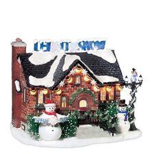 "Dept. 56 Snow Village ""THE SNOWMAN HOUSE"" ~ MIB ~ Christmas Lane Series"