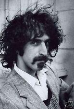 Frank Zappa RARE Early Portrait 10x8 Photo