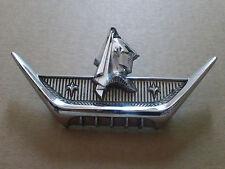 Vintage Dodge Knight Chrome Metal Emblem Ornament Nameplate Script Trim